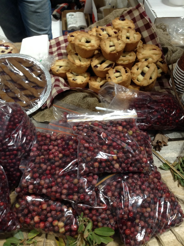 Partridgeberries and partridgeberry tarts from Chester's One Stop.